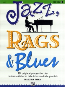 JAZZ RAGS BLUES BOOK 3 PIANO, Paperback Book