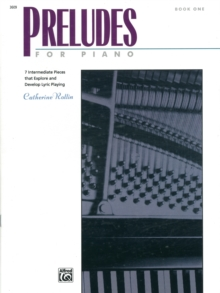PRELUDES FOR PIANO BOOK 1, Paperback Book