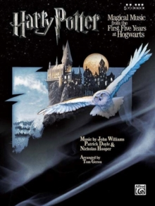 HARRY POTTERTHE FIRST FIVE YEARS AT HOGW,  Book