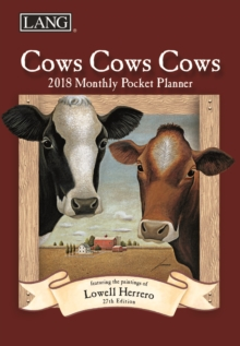 COWS COWS COWS MONTHLY PKT PLANNER D,  Book