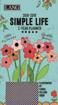 SIMPLE LIFE 2YR PKT PLANNER D,  Book