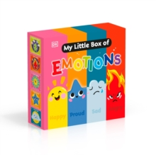 My Little Box of Emotions : Little guides for all my emotions Five-book box set, Board book Book