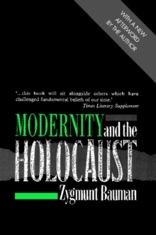 Modernity and the Holocaust, Paperback / softback Book