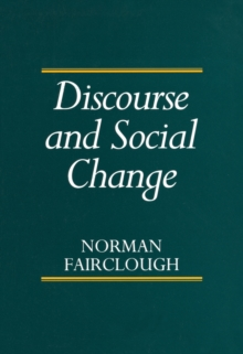 Discourse and Social Change, Paperback / softback Book