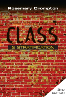 Class and Stratification, Paperback Book