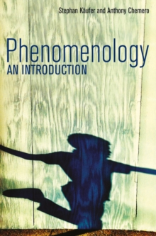 Phenomenology : An Introduction, Paperback / softback Book