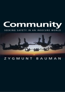 Community : Seeking Safety in an Insecure World, EPUB eBook