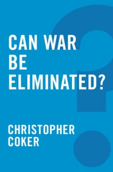 Can War be Eliminated?, Paperback Book
