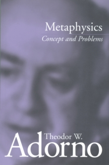 Metaphysics : Concept and Problems, PDF eBook