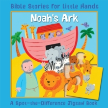 Noah's Ark : A Spot-the-Difference Jigsaw Book, Board book Book