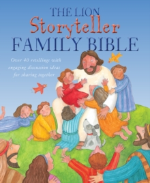 The Lion Storyteller Family Bible, Hardback Book