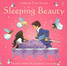 Usborne Fairytale Sticker Stories Sleeping Beauty, Paperback Book