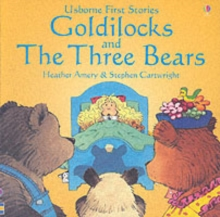 Usborne Fairytale Sticker Stories Goldilocks And The Three Bears, Paperback Book