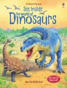 See Inside the World of Dinosaurs, Hardback Book