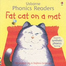 Fat Cat On A Mat Phonics Reader, Paperback Book