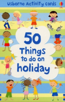 50 Things To Do On A Holiday Activity Cards, Novelty book Book
