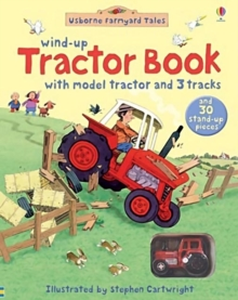 Farmyard Tales Wind-Up Tractor Book, Novelty book Book