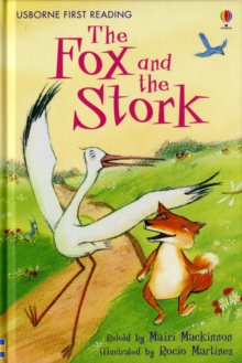 The Fox and the Stork, Hardback Book
