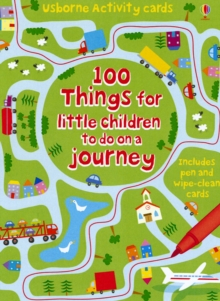 100 Things for Little Children to Do on a Journey, Novelty book Book