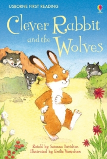 Clever Rabbit And Wolves, Hardback Book