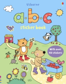 ABC Sticker Book, Hardback Book