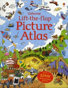 Lift the Flap Atlas, Hardback Book