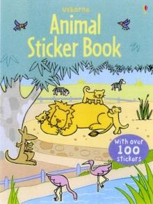 Animal Sticker Book with Stickers, Paperback / softback Book