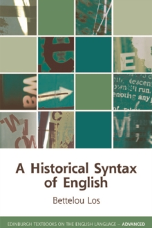 A Historical Syntax of English, Paperback Book