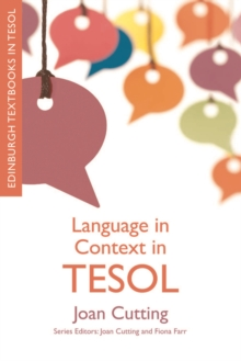 Language in Context in TESOL, Paperback Book