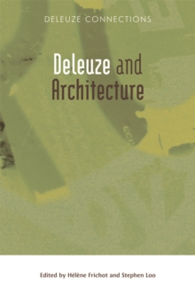 Deleuze and Architecture, Paperback / softback Book
