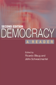 Democracy : A Reader, Paperback Book