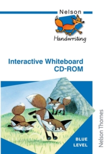 Nelson Handwriting Interactive Whiteboard CD ROM Blue Level, CD-ROM Book