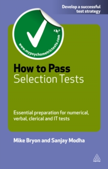 How to Pass Selection Tests : Essential Preparation for Numerical Verbal Clerical and IT Tests, EPUB eBook