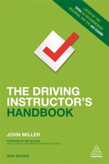 The Driving Instructor's Handbook, Paperback Book