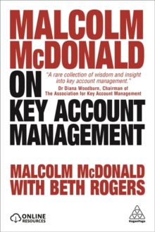Malcolm McDonald on Key Account Management, Paperback Book
