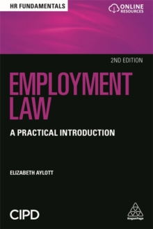 Employment Law : A Practical Introduction, Paperback / softback Book