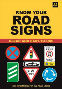 AA Know Your Road Signs, Paperback Book