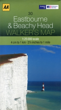 Eastbourne and Beachy Head, Sheet map, folded Book
