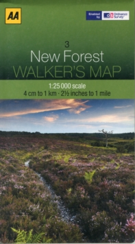 New Forest, Sheet map, folded Book