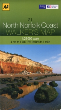 North Norfolk Coast, Sheet map, folded Book