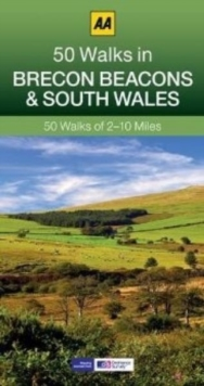 50 Walks in Brecon Beacons & South Wales, Paperback / softback Book