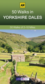 50 Walks in Yorkshire Dales, Paperback / softback Book