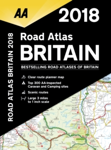 AA Road Atlas Britain, Spiral bound Book