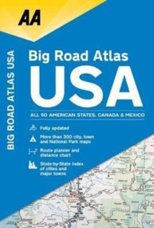 AA Big Road Atlas USA, Paperback / softback Book