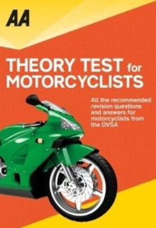 AA Theory Test for Motorcyclists, Paperback / softback Book