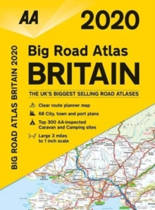 AA Big Road Atlas Britain 2020, Paperback / softback Book