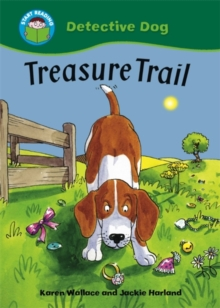 Start Reading: Detective Dog: Treasure Trail, Paperback Book