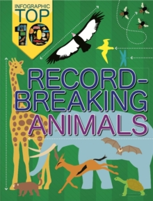 Infographic Top Ten: Record-Breaking Animals, Paperback Book