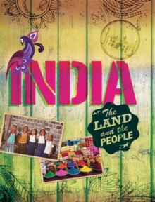 The Land and the People: India, Paperback Book