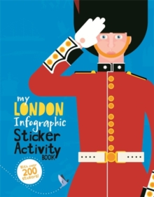 My London Infographic Sticker Activity Book, Paperback / softback Book